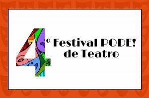 Festival PODE! de Teatro começa hoje (29) no Museu dos Correios confira mais em http://www.publicidadecampinas.com.br/festival-pode-de-teatro-comeca-hoje-29-no-museu-dos-correios/.        Será realizado, nos dia 29 e 30 de novembro e 1 e 2 de dezembro, o 4º Festival PODE! de Teatro, no Museu Nacional dos Correios, em Brasília. O evento, que está em sua quarta edição, conta com quatro espetáculos que vão do teatro de improviso à comédia, e do s