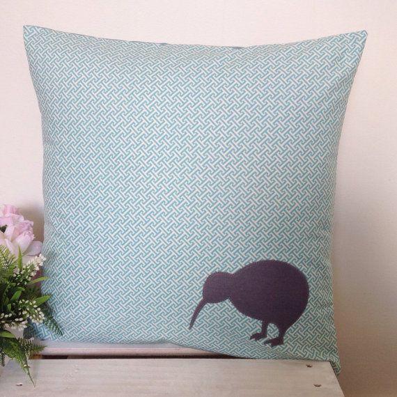 Cushion Cover Maze Fabric Grey Kiwi by natandalicreative on Etsy