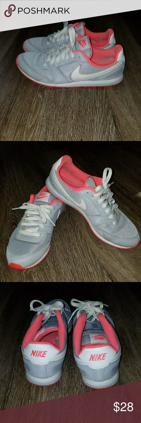 Ladies Nike Gray and coral light weight still in original box Nike Shoes Sneakers