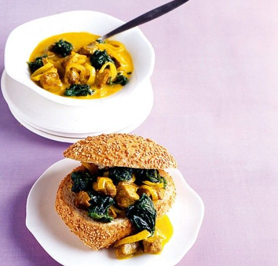 Currysuppe mit Lamm