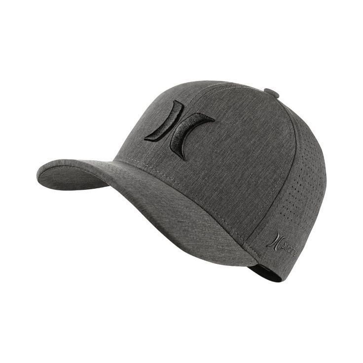 Hurley Phantom Vapor 3.0 Men's Fitted Hat Size Large/XL (Grey)