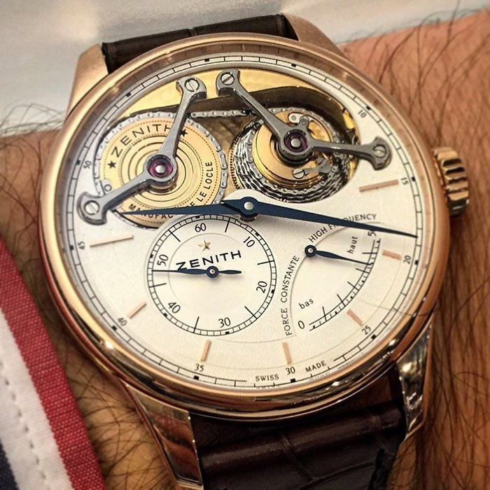 "281 Likes, 6 Comments - Watch Emporium ⌚️ (@watchemporium) on Instagram: ""Great pic of this @zenithwatches Academy Georges Favre-Jacot by @equationdutemps. Detail here is…"""
