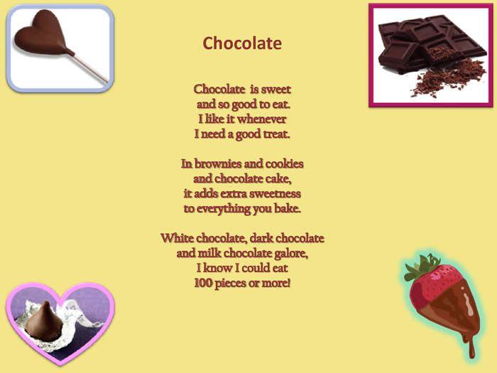 Chocolate Cake Funny Poem