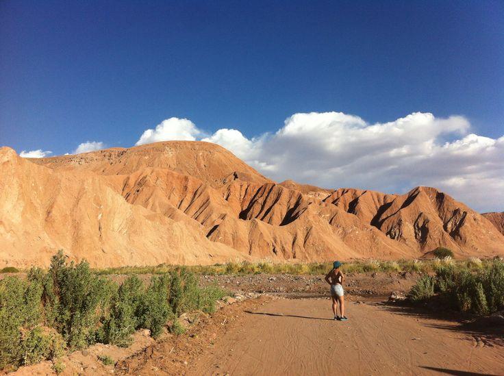 Camino a Catarpe, lo Mejor es que ninguna foto tiene filtro por que no es necesario San Pedro de Atacama, Chile