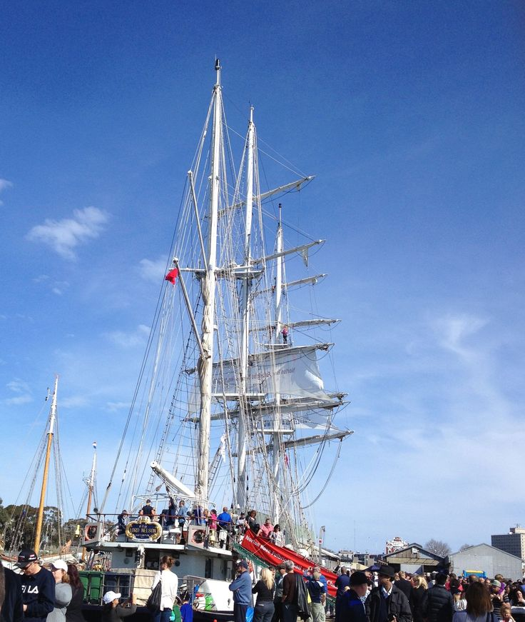 Tall Ships at Williamstown Melbourne Vic
