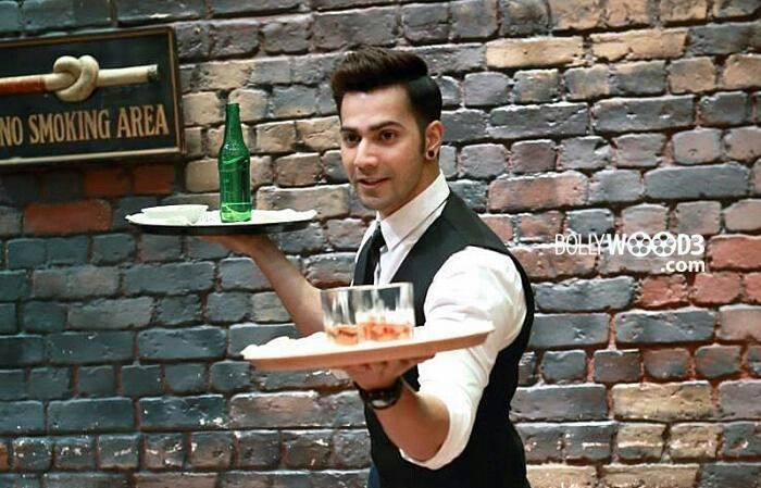 The sexy waiter