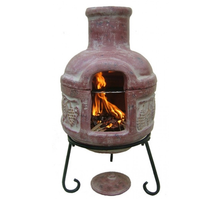 17 best images about clay chimineas on pinterest cozumel for Mexican chiminea