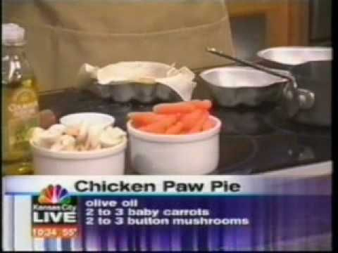 Three Dog bakery Chicken Paw Pie recipe video