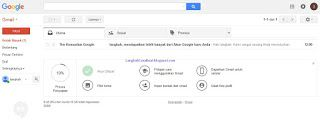 Berikut ini adalah tutorial cara membuat akun email baru yang menggunakan layanan produk google, yang dikenal dengan sebutan Gmail [Google Mail]. Gmail ini adalah layanan email terbesar dan paling banyak penggunanya dari seluruh dunia dibandingkan dengan layanan email lainnya.