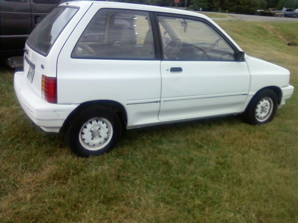 91 FORD FESTIVA Not Exactly The Same As Mine And Im Sure