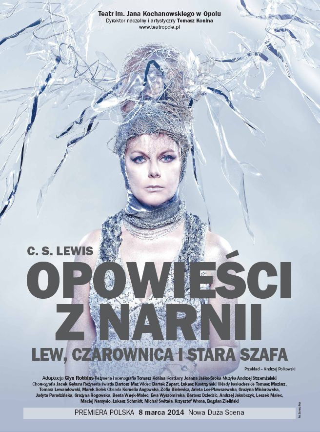 """W miniony weekend miałam przyjemność oglądać spektakl """"Opowieści z Narnii: lew, czarownica i stara szafa"""" w Teatrze Im. Jana Kochanowskiego w Opolu."""