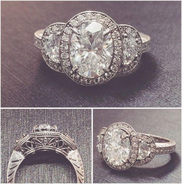 Pin On Vintage Diamond Ring