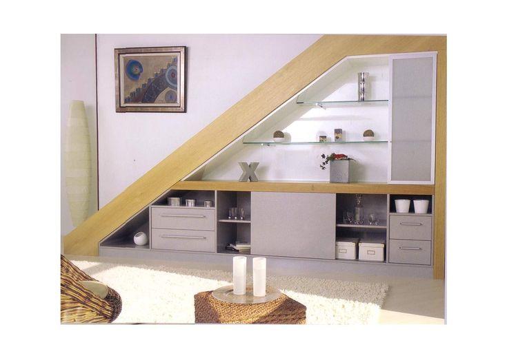 Meuble sous escalier Apartment Pinterest Armoires, Staircases - escalier interieur de villa