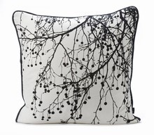 Tree Bomb Cushion - Black