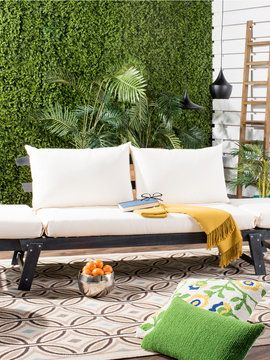 Tandra Modern Contemporary Daybed from Outdoor Blowout: Seating on Gilt
