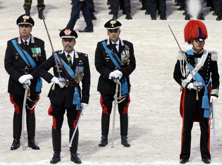 Pin su carabinieri