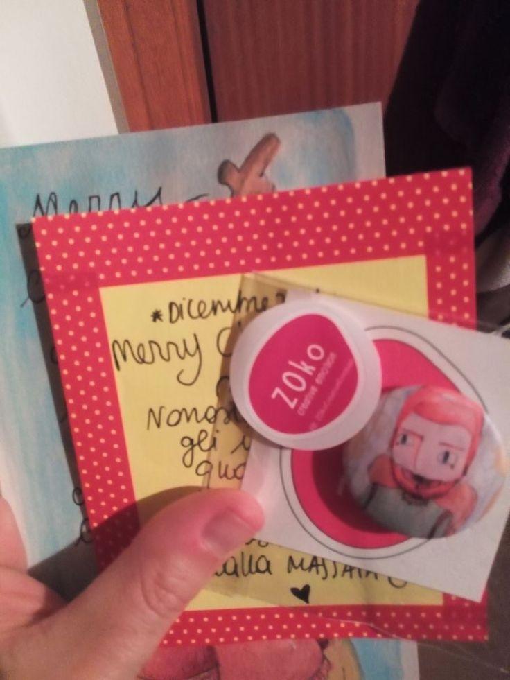 Alcuni clienti ci hanno mandato le foto dei regali ZOkosi che hanno ricevuto e noi le ripubblichiamo volentieri, ringraziandoli per il pensiero!