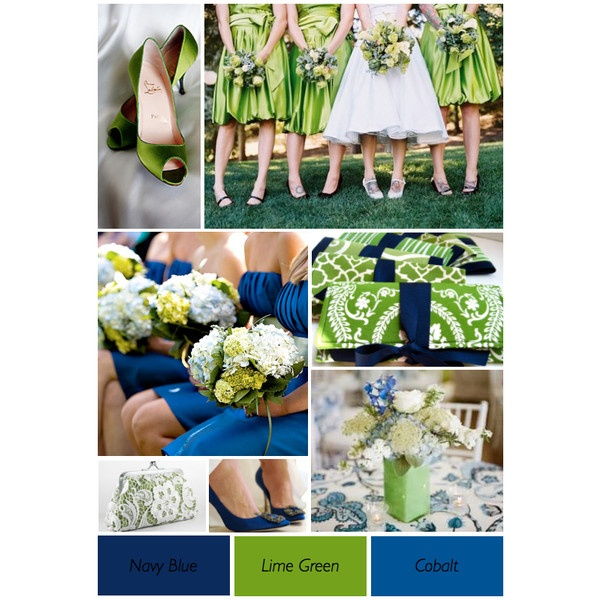 Blue And Green Wedding Theme-- I am in just in love with these colors:)