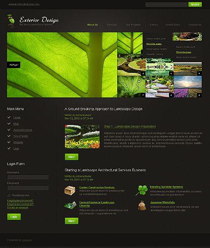 Exterior Design Joomla Templates by Astra