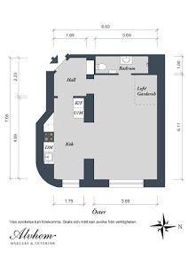 Apartamento Sueco de 44m - Small&LowCost