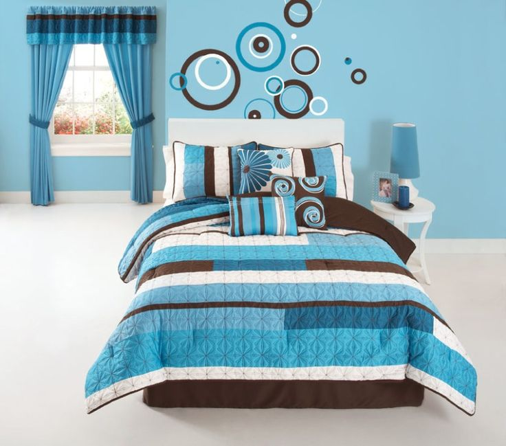 My daughter loves blue   this would be cute for a girl s bedroom. 110 best images about bedroom sets on Pinterest   Girls bedroom
