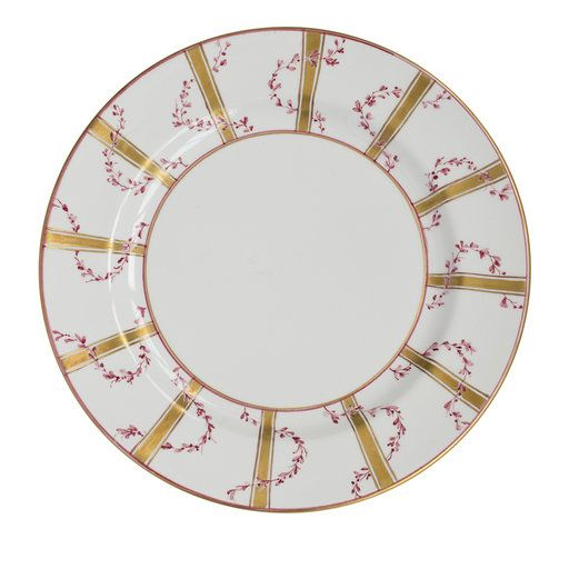 Ghirlande Ceramic Plate - Shop timeless tableware handmade in Italy: ceramic plates, silver cutlery and crystal glasses - Home Décor and Interior Design ideas from Italy's finest artisans - Artemest