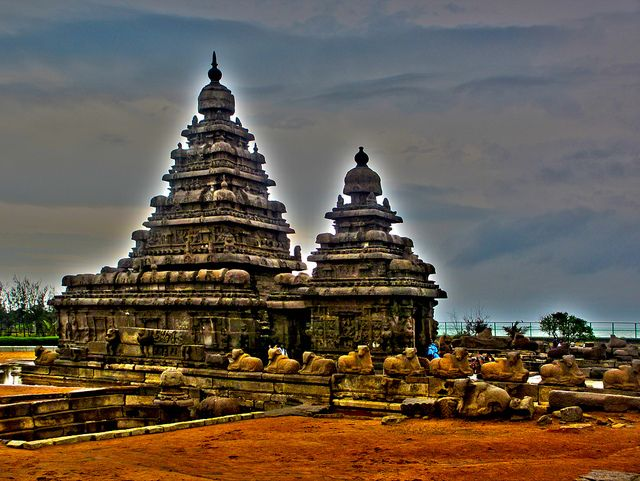 Temple Architecture in South India -Dravida Style Four stages of temple architecture had been observed