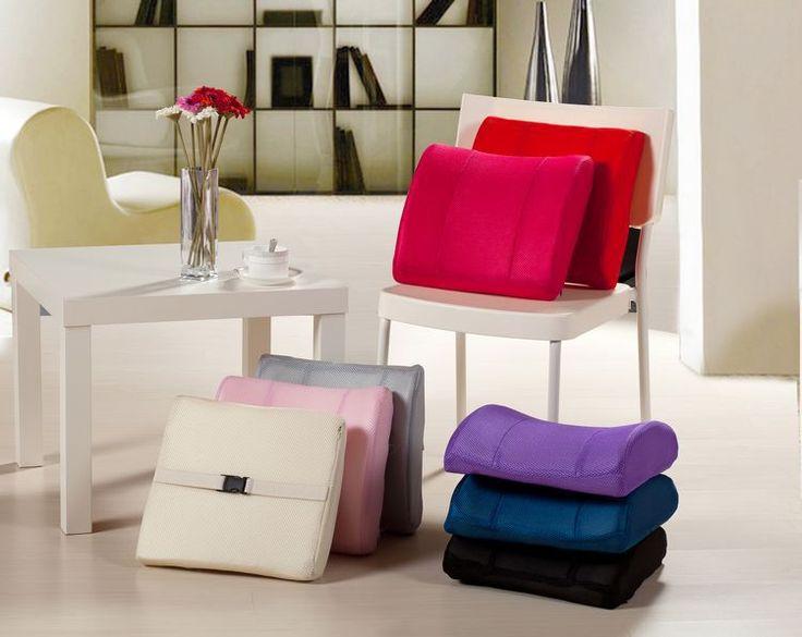 Lumbar pillow sofa chair cushions memory foam seat cushion pillows back cushion gift for boyfriend car neck pillow seat cushion Price: USD 13.34 | Uni…