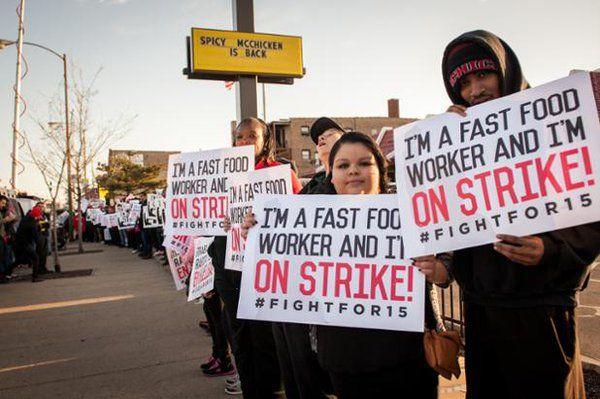 #FACT: The #FightFor15 has grown from a couple of dozen to thousands & thousands across the country. #Winning