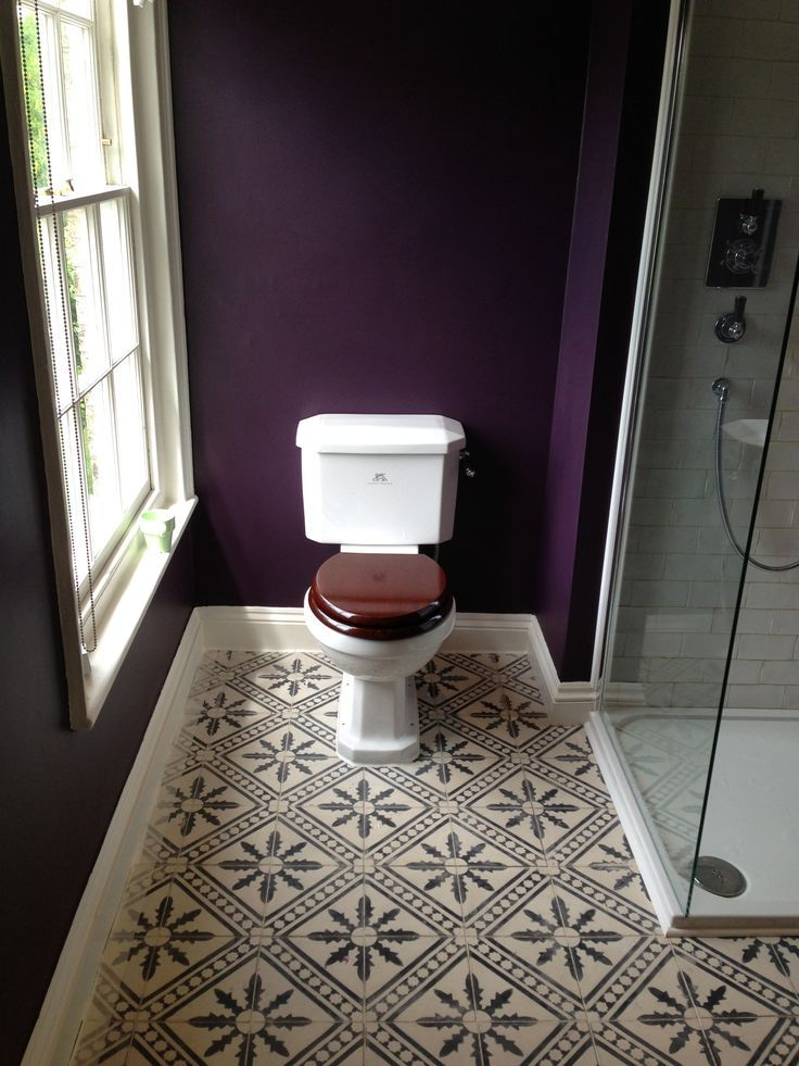 Farrow And Ball Brinjal Powder Room Google Search