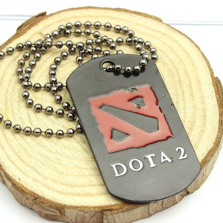 Buy DOTA 2 Logo Pendant Necklace at Pica Collection for only $ 8.91