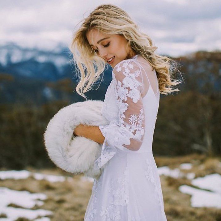 Winter chills of the best kind  @amantebridal @lightandtype @pollen_and_patina @sarah.khayaam @ellejames_makeup