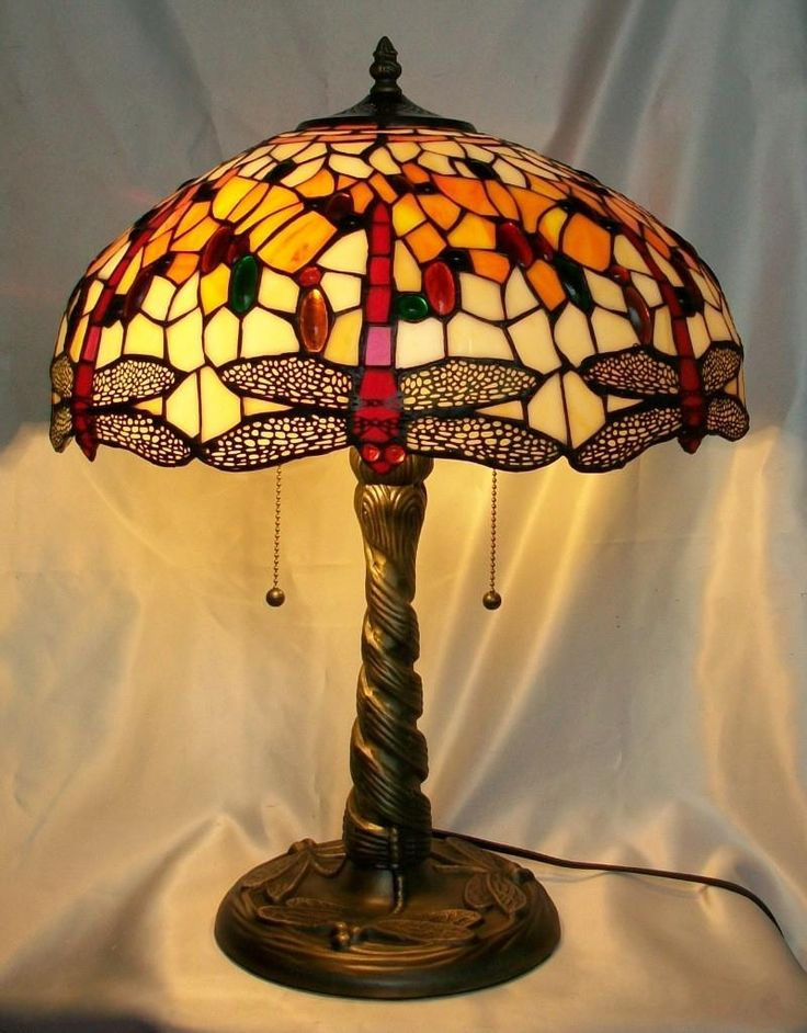 firedrop dragonfly lamp table lamps tiffany