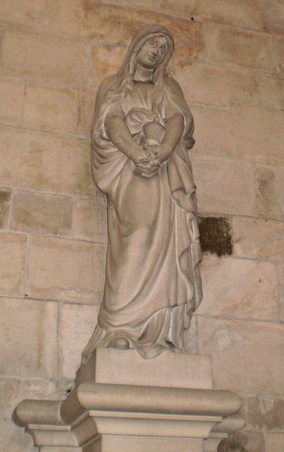 Basilica of Mary Magdalene, Vézelay, Burgundy, France by Grangeburn, via Flickr
