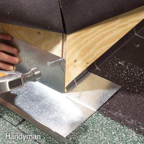 outside corners on dormers needs special flashing details to prevent water leaks.  this article explains two foolproof methods for making sure that corners shed water and  stay dry for the life of the roof.