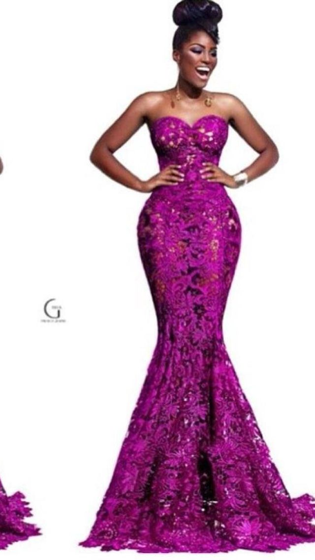 58 best lace images on pinterest african fashion for African lace wedding dress
