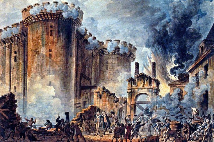 Взятие Бастилии - Jean-Pierre Houël https://gotro.ru