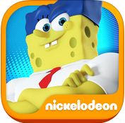 iTunes Top APP: SpongeBob: Sponge on the Run!  , Play the brand-new SpongeBob: Sponge on the Run based on the new SpongeBob Movie: Sponge out of Water!  SpongeBob and Plankton are in a race to find the lost Krabby Patty formula somewhere in Bikini Bottom, Apocalyptic Bikini Bottom and a real-world beach. When he's not running, SpongeBob is flying, floating in a bubble, or has Plankton jumping around his surreal imagination. And when the running gets tough, the tough get h