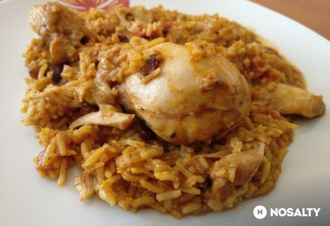 Szaúdi Al Kabsa - rizses csirke