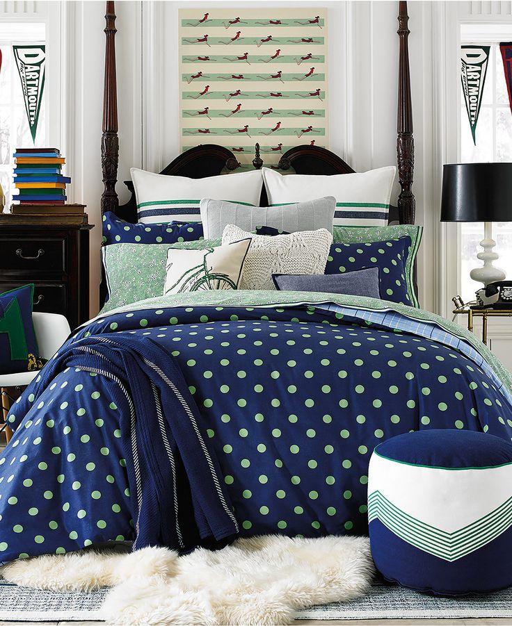 Tommy Hilfiger Hyannis Dot Full/Queen Comforter Set