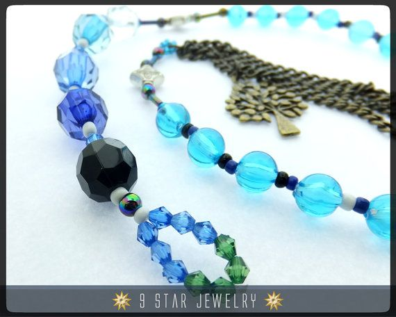 Baha'i Prayer Beads  Seasons of Hope WINTER  5 x by 9StarJewelry, $14.50