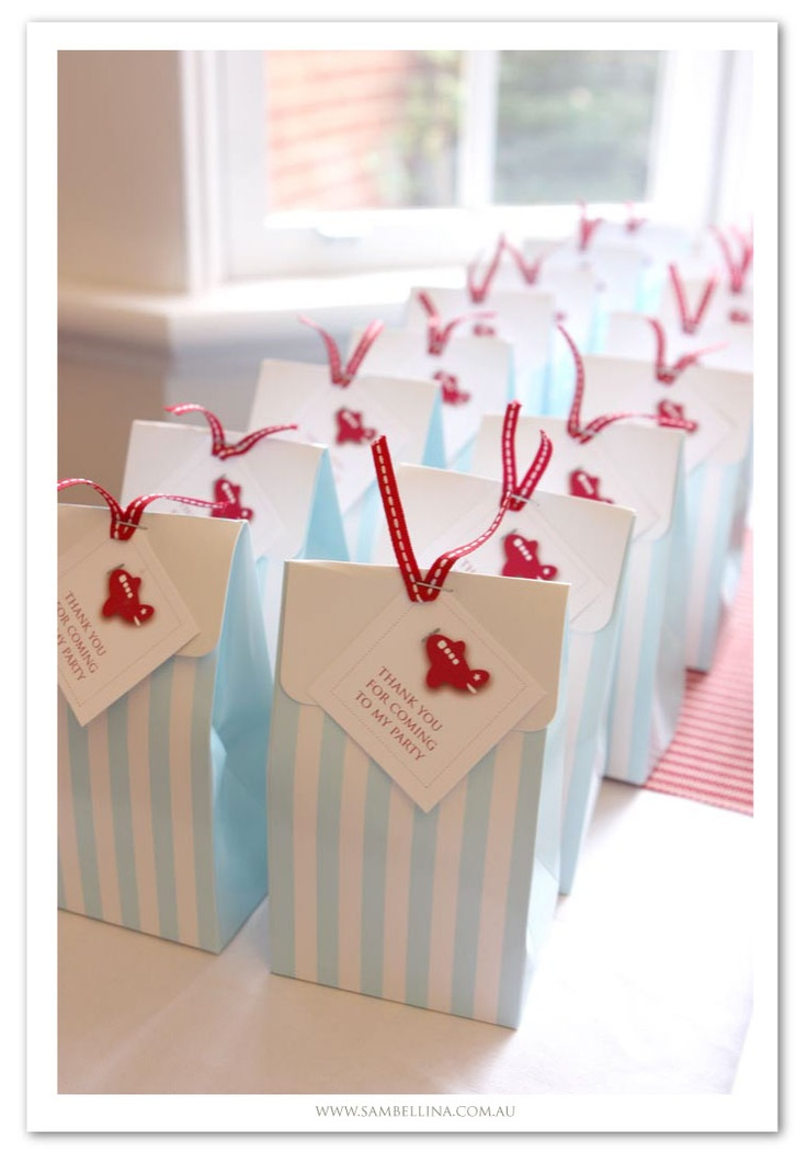 Sambellina Party Bags and Boxes