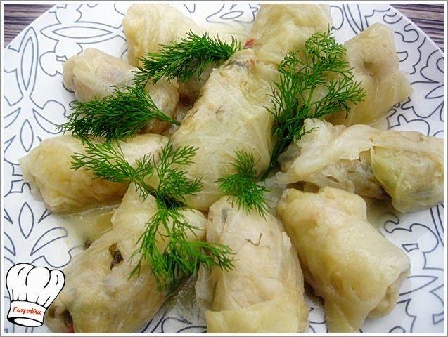 ΛΑΧΑΝΟΝΤΟΛΜΑΔΕΣ ΝΗΣΤΙΣΙΜΟΙ!!! | Νόστιμες Συνταγές της Γωγώς