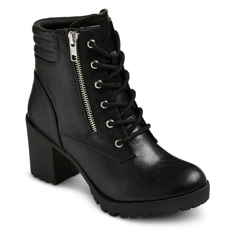 Women's Easton Chunky Heel Combat Boots