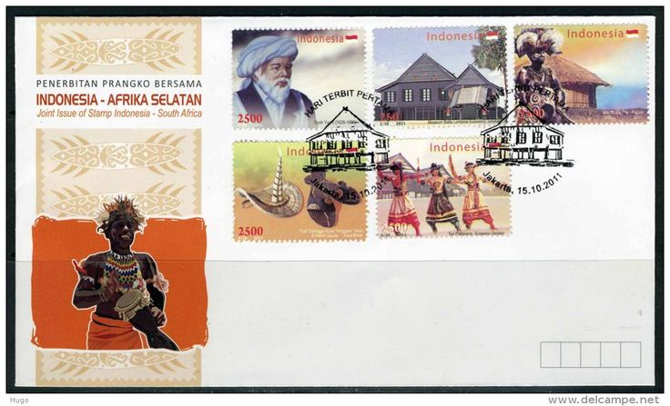 2011 Indonesia-South Africa Joint Issue. Issued date: 15 October 2011