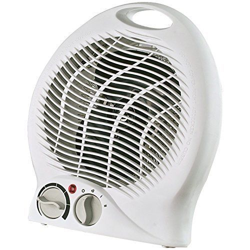 1500W Portable Electric Small Fan w/ Thermostat Space Heater Energy 5 Position #Optimus