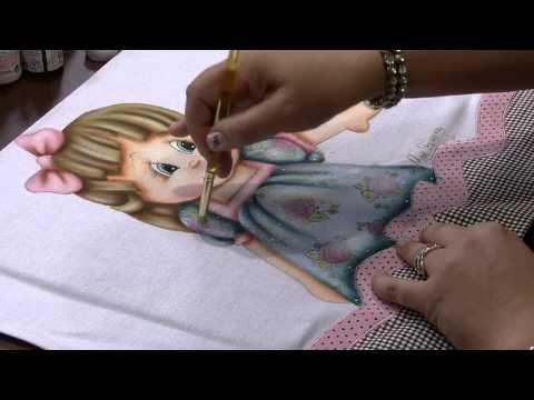 ▶ Mulher.com 12/08/2013 Rose Ferreira - Pintura em Tecido com Carimbo P 2/2 - YouTube