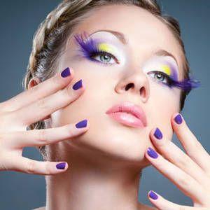 Bellezza - make up ciglia finte - Ciglia finte: per decorazioni appariscenti o sguardi profondi