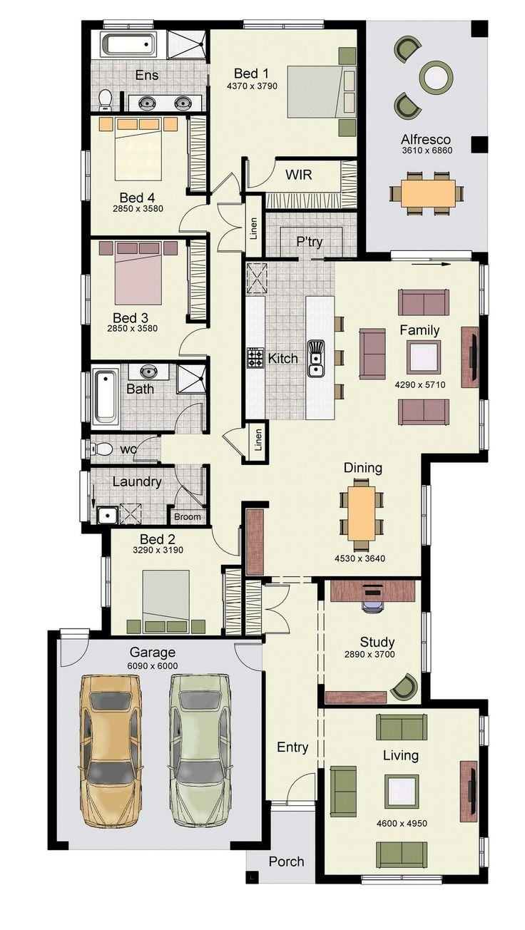 224 best House | Plans images on Pinterest | House floor plans ...