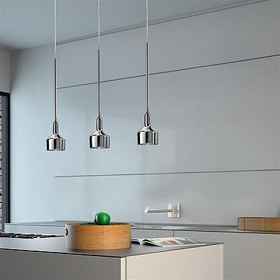 85 best Lampen images on Pinterest Silver, Lighting and Table lamp - led küchenlampen decke